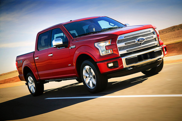 2015 Ford F-150 ad