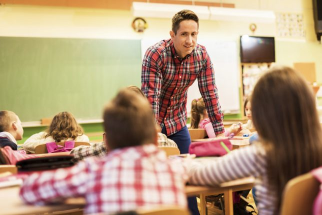 Back to School Tips for Success - school teacher talking to classroom