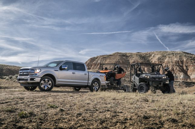2018 Ford F-150 - F-150 powertrain options